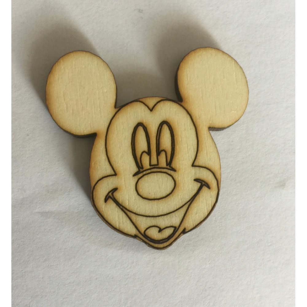 Mickey Mouse 4x4cm