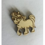 Unicorn 3.5x3.5cm
