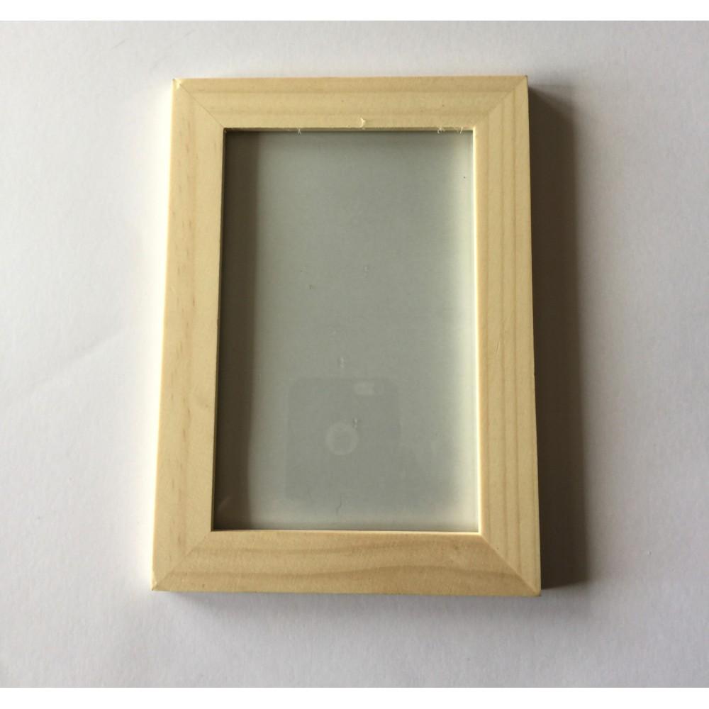 Rame de lemn cu sticla 10x15cm