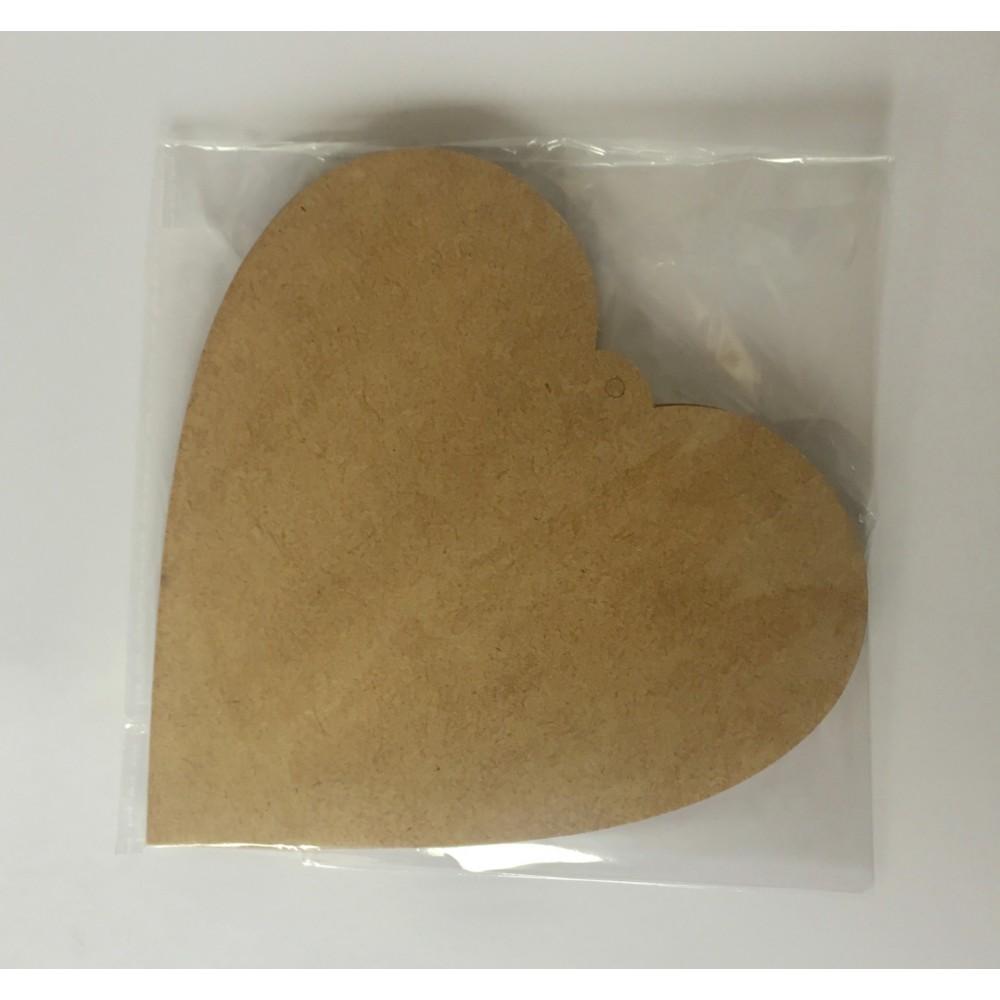 Figurina inima 12cm 2 buc
