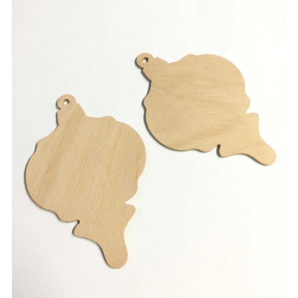 Set figurine lemn - glob