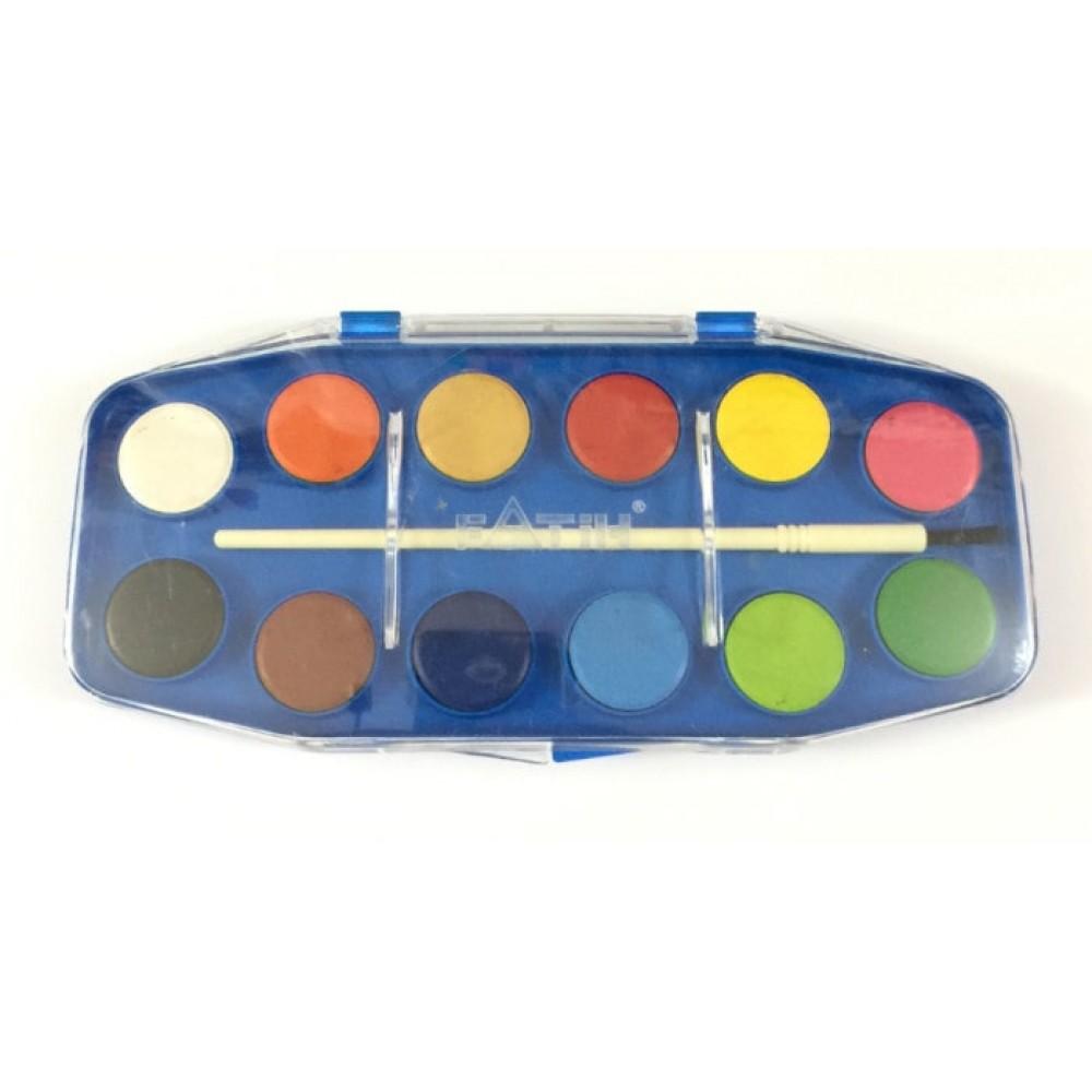 Culori acuarela 12 culori