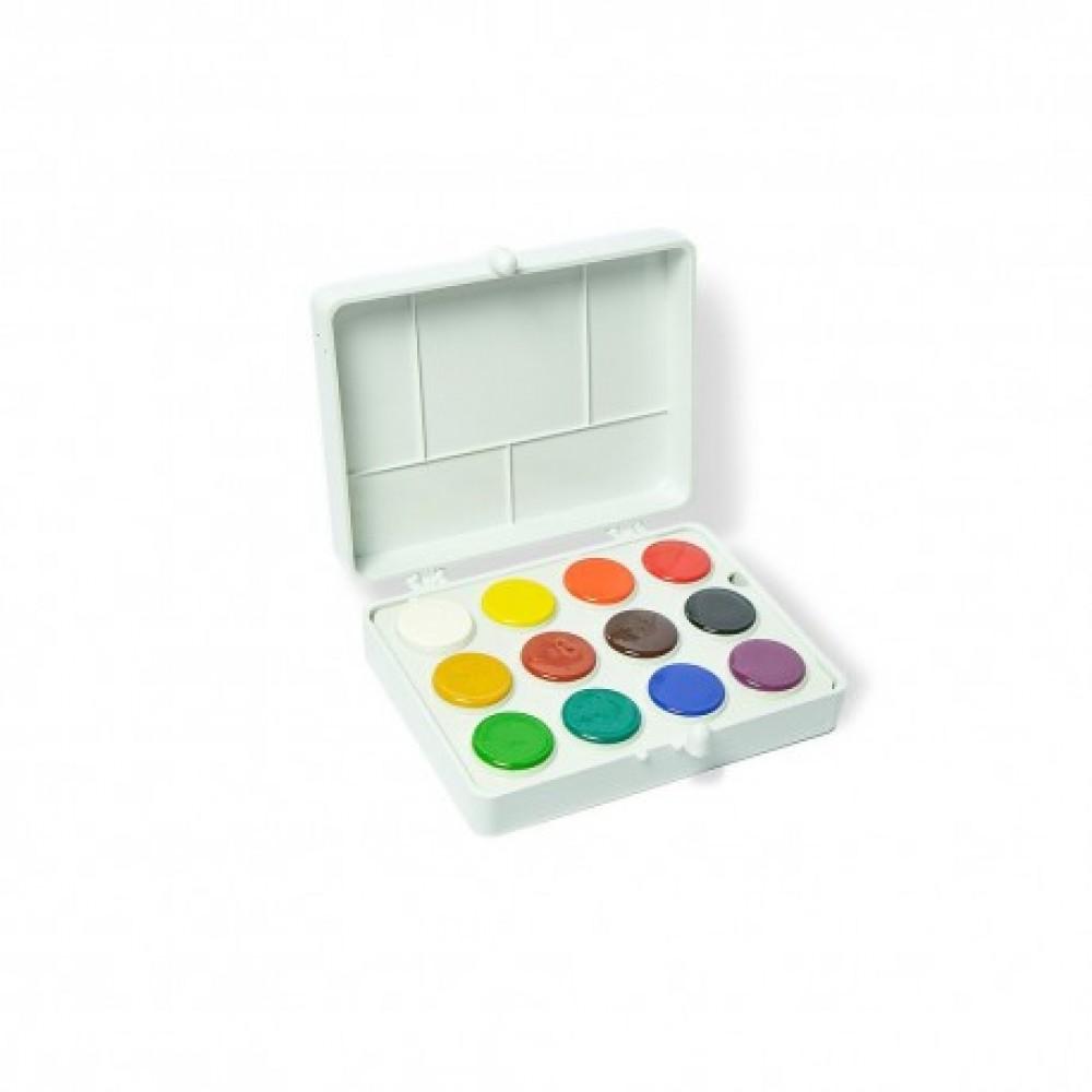 Culori acuarela Colibri 12 culori