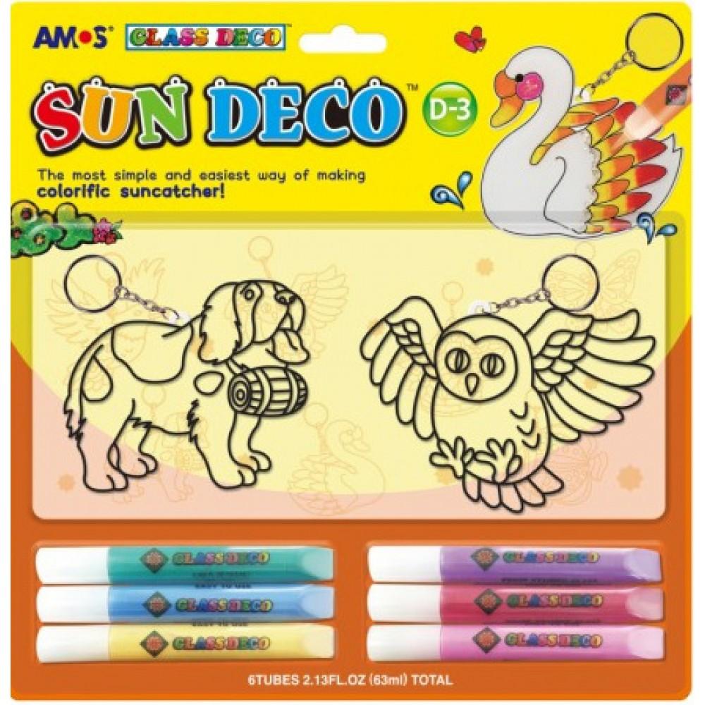 Sun Glass Deco - Caine si Bufnita