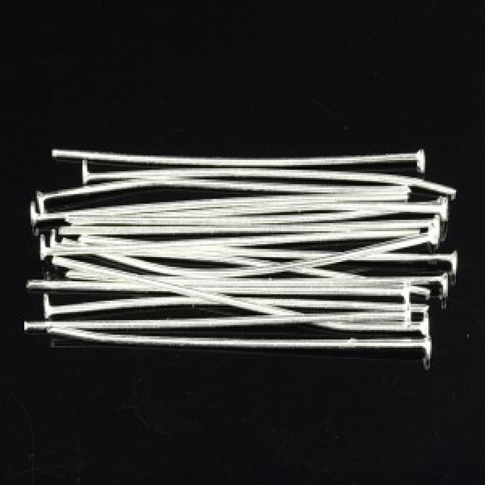 Tije cu capăt Argintii 35mm