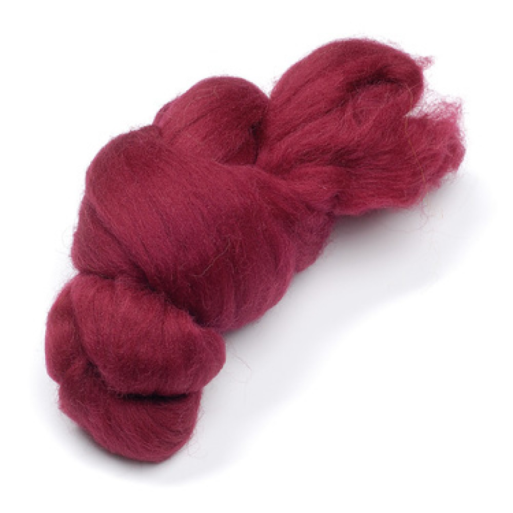 Lana color rosu inchis 5 gr.