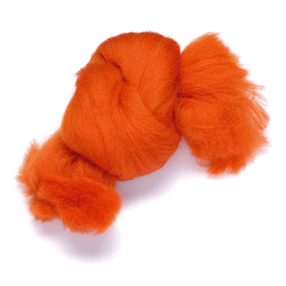 Lana color portocaliu 50 gr.