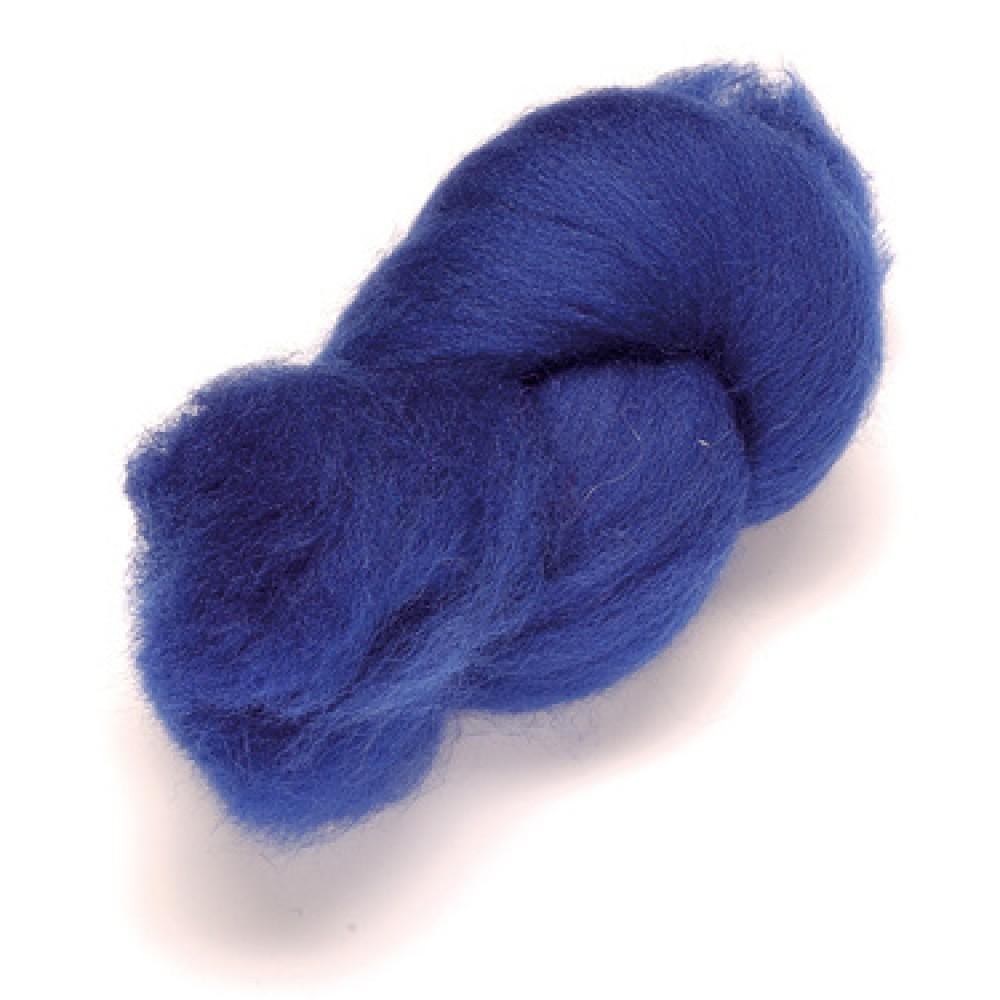 Lana color albastru inchis 50 gr.