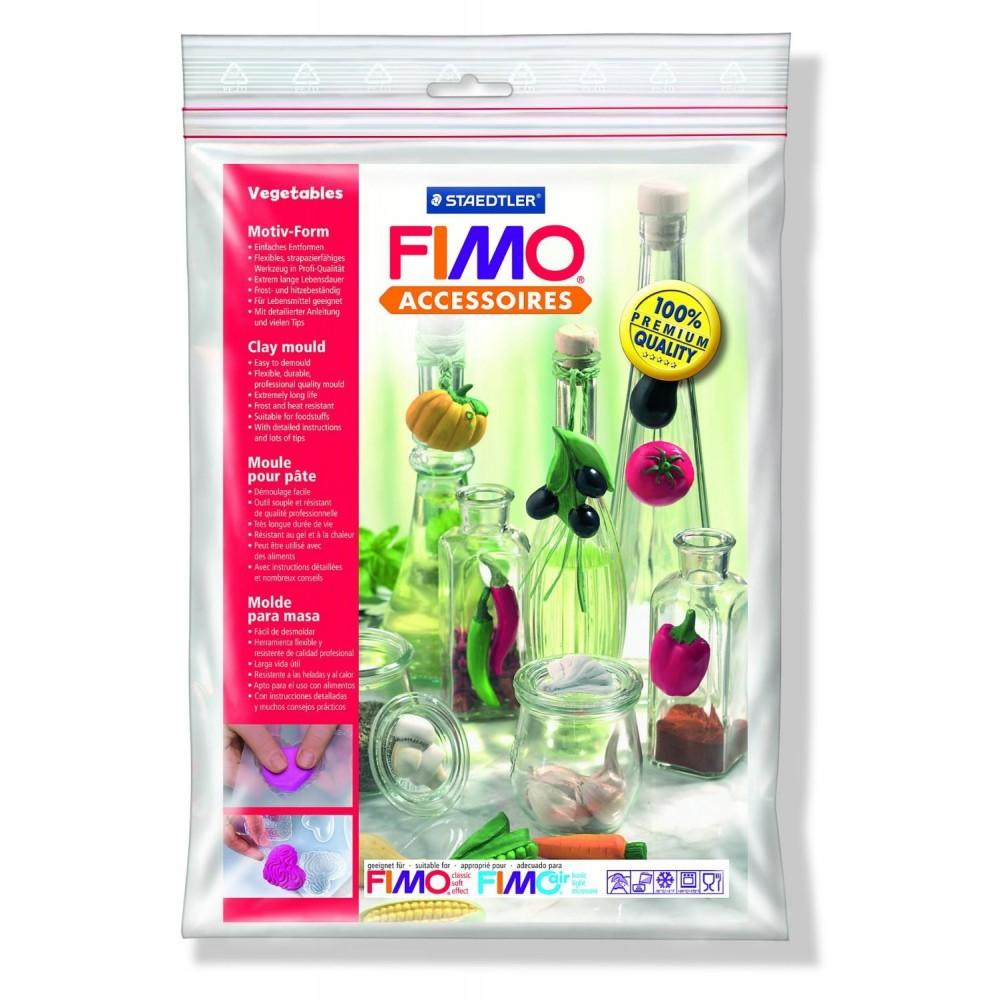 FIMO® Accessories - Formă de turnare/presare - Legume