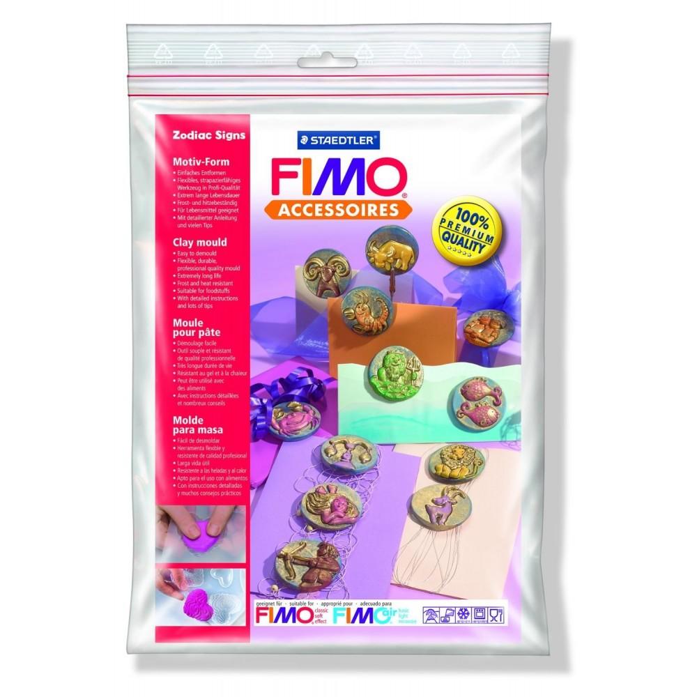 FIMO® Accessories - Formă de turnare/presare - Zodiac