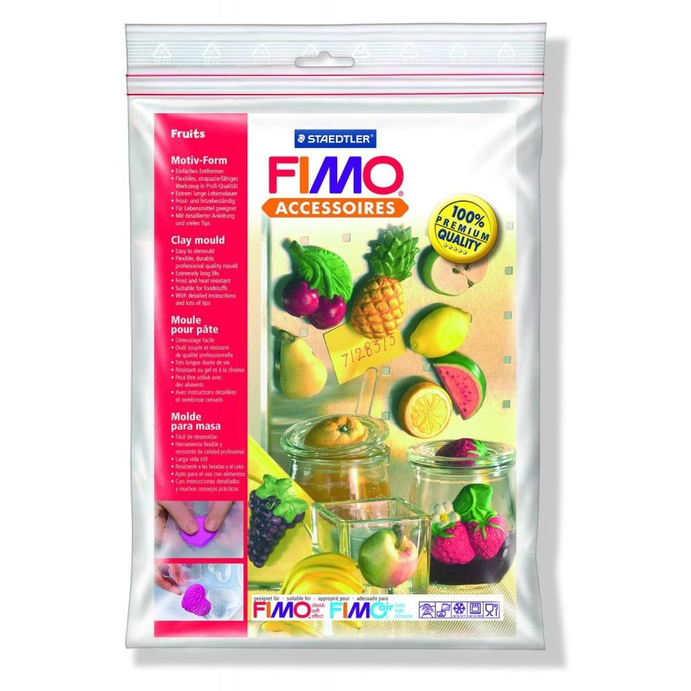 FIMO® Accessories - Formă de turnare/presare - Fructe