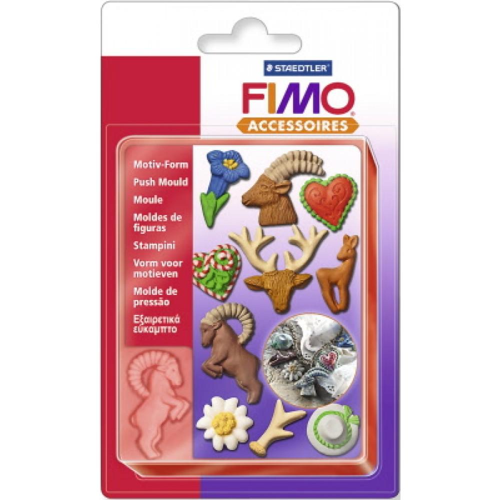 FIMO® Accessories - Formă de Modelaj - Emeralde