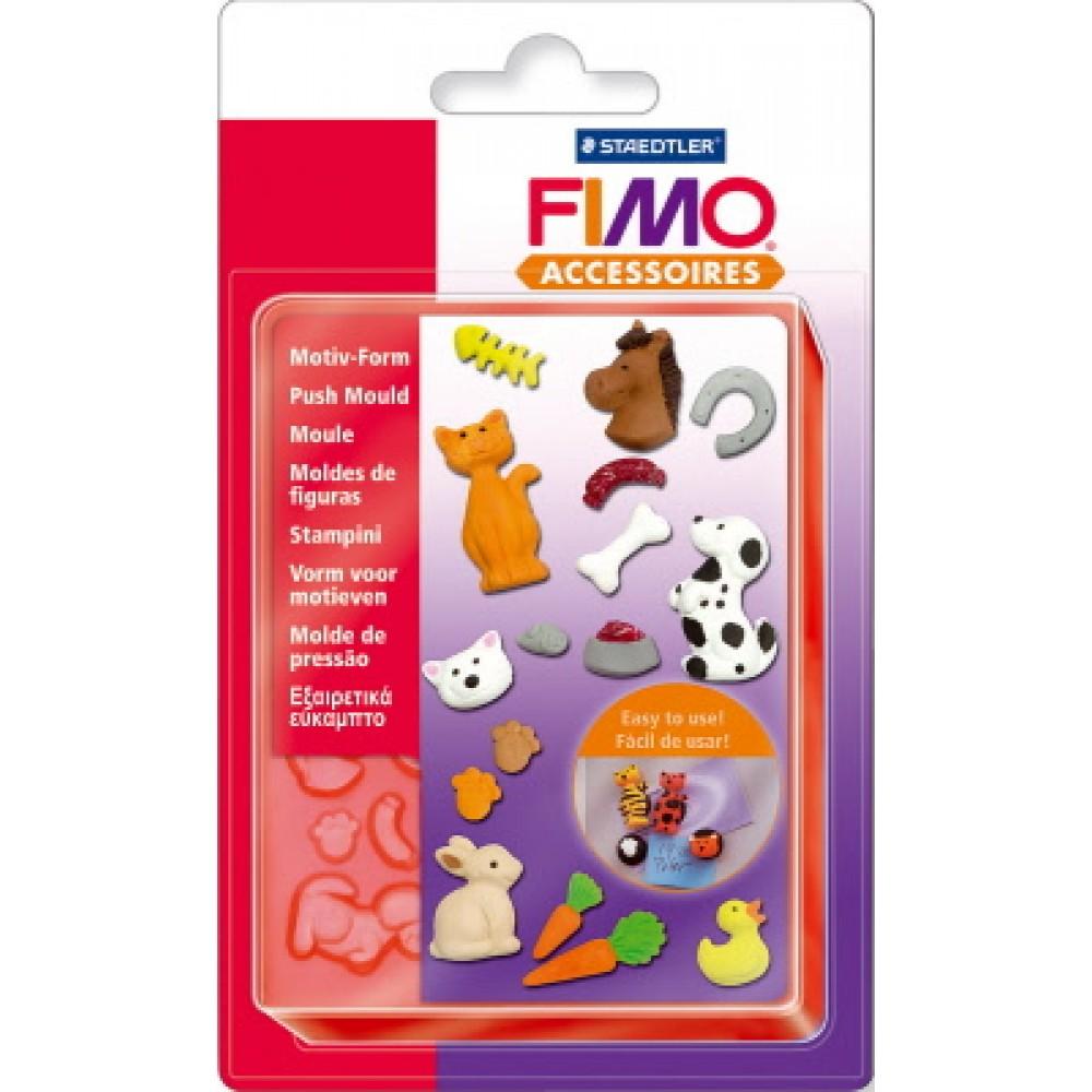 FIMO® Accessories - Formă de presare - Animale