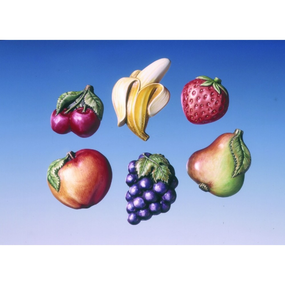 Forma de Turnare - Fructe 1