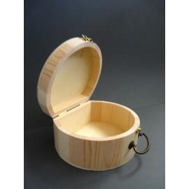 Cutie de lemn tip geanta