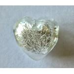 Margele din sticla venetiana - forma de inima