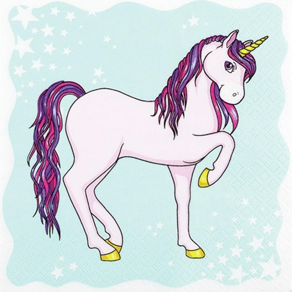 Servetel Decorativ Unicorni 2